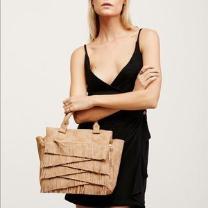 Free People Women's Amber Vegan Leather Satchel
